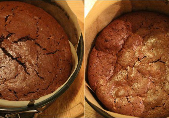 sjokoladekake uten egg og melk