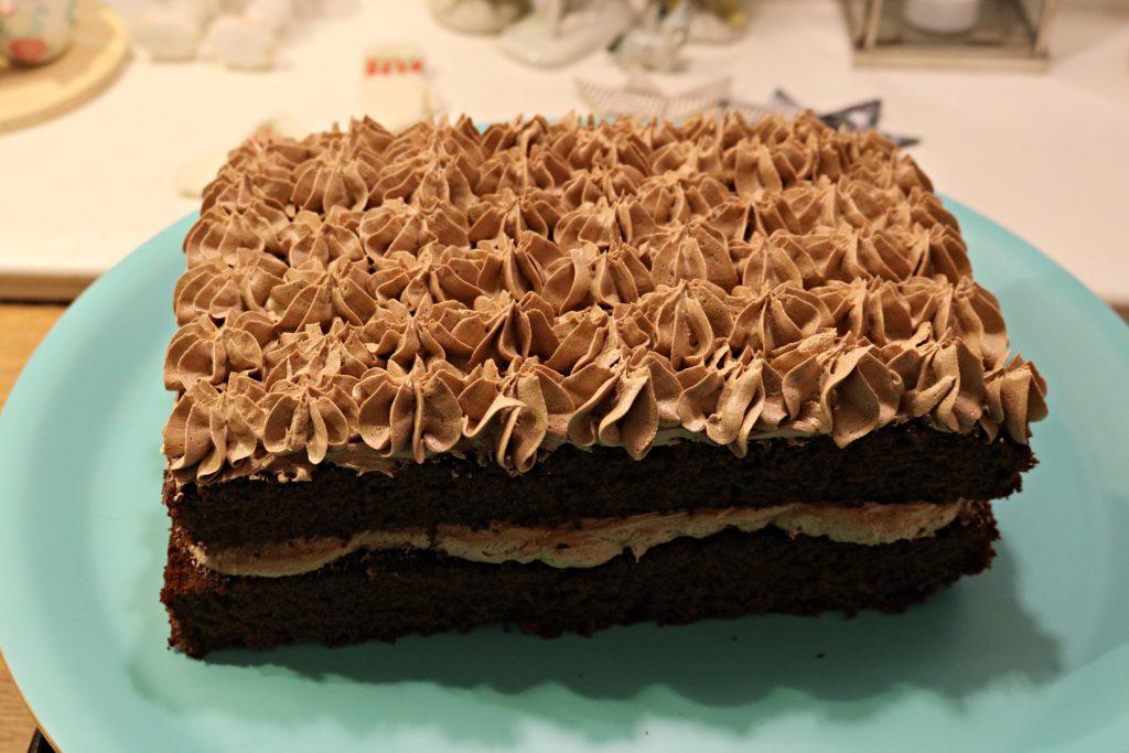 sjokoladekake helt allmindelig